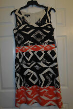 NINE WEST STRETCH KNIT SHIFT DRESS size 12  NWT  $79.00