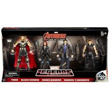 Marvel Legends AVENGERS THOR BLACK WINDOW BRUCE BANNER HAWKEYE 4-Pack NIB