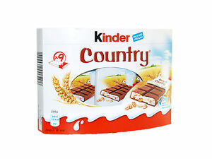 27pcs / 3boxes KINDER COUNTRY 🍫 genuine chocolate from Germany 1.4lbs ✈ TRACKED