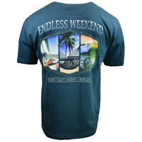 Mens Tee T Shirt M L XL XXL Beach Vacation Surf Hawaii Aloha Casual Original NEW