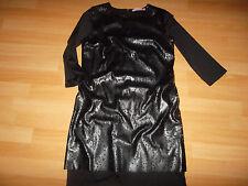 Fornarina Diesel Kleid Lederkleid Abendkleid Please Partykleid schwarz Gr. S