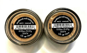 bareMinerals Loose Powder Eye Color x 2 - Well Rested  .02 oz / .57 g