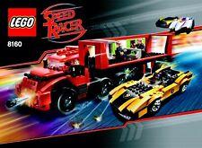 LEGO Speed Racer 8160 - Cruncher Block & Racer X NISB New In Box