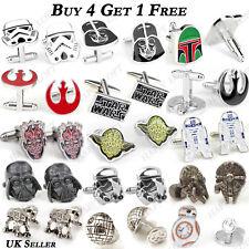 Star Wars Storm Trooper Darth Vader Novelty Wedding Cufflinks Perfect Mens Gift