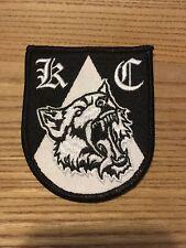 Aufnäher Patch Wappen Kutte Weste Banner Hools Kategorie C Hungrige Wölfe Logo