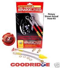 Goodridge Brake Hose Svw0506-2p 2 Line for VW Golf GTI Mk2 to Mk4 Rear Caliper