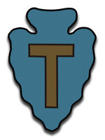 "36th Infantry Division Texas 5.5"" Sticker 'Officially Licensed'"