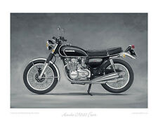 """Honda CB500 Four (1972) - Limited Edition Art Print (of 50 only) 20""""x16"""""""