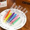 New Liquid Syringe Highlighter Watercolor Pen Novelty Injection Pens Stationery