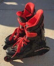 ☀Rollerblade Macroblade 90 Inline Men's Skates Sz 9 Model# 76903270 Italy Made