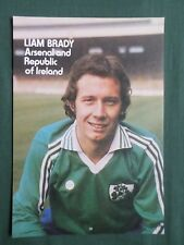 8065edc61b3 LIAM BRADY FOOTBALL PLAYER ARSENAL   IRELAND -1 PAGE PICTURE -  CLIPPING CUTTING