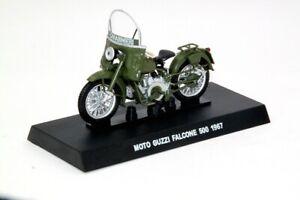 1:24 Modellino MOTO Guzzi Falcone 500 1967 Carabinieri Diecast Models Toys Gifts