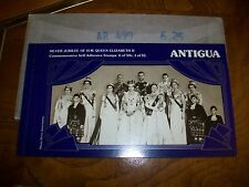 Queen Elizabeth Antigua 1977 Silver Jubilee Booklet 6-50 - 1-5.00 Stamps
