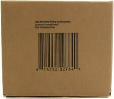RICK AND MORTY SEASON 2 TRADING CARDS 12-BOX CASE (CRYPTOZOIC 2019)