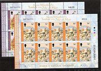 CEPT, Europa 2001 Insel Man Mi 933/934 im Kleinbogen postfrisch, KW 22,00€