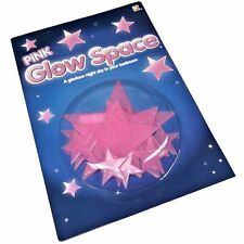 11 Pink Glow Stars - Fun Children's Toys - Create a Night Sky in Your Bedroom!