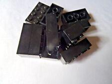 LEGO 3001 BLACK  2 x 4 BRICKS x 10