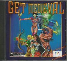 GET MEDIEVAL jeu video guerrier magicien archer pour PC ordinateur 1998 cd rom