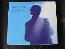Slip Double: Simply Red Royal Albert Hall 31 05 07 Numbered Limited Edition