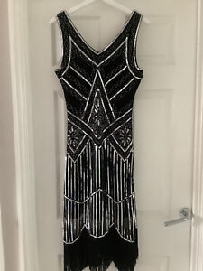 1920's Style Dress, With Sequins And Tassels