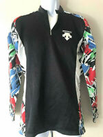 Rare 'n' Colorful DESCENTE CYCLING JERSEY Long Sleeve Sleeved Lightweight