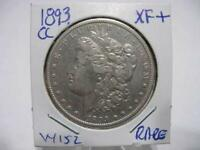 RARE DATE 1893 CC MORGAN DOLLAR VERY NICE EXF++ ESTATE COIN  w152