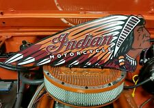 Indian Motorcycle Signs Indian Chief War Headdress Indian Classic Roadmaster (Fits: Boss Hoss)