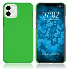 Hardcase Apple iPhone 11 rubberized green Cover Case