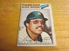 Reggie Jackson 1977 O-Pee-Chee #200 Trading Card MLB Baseball New York Yankees