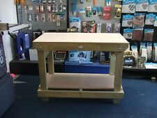 New Wooden Heavy Duty Work Bench/table/desk 4FT HAND MADEIN THE UK, 18mm MDF TOP