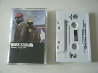 BLACK SABBATH NEVER SAY DIE CASSETTE TAPE WARNER BROS 1978