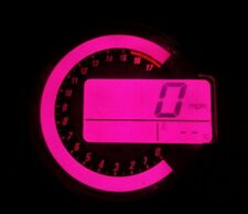PINK KAWASAKI ZX6R C1H C6H 04 TO 06 LED CLOCK KIT LIGHTENUPGRADE