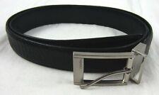 Calvin Klein - NEW Men's Black Reversible Faux Leather Belt - Size: 34