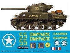 Peddinghaus 1/16 French M4A3(76)W Sherman 'Champagne' Tank Markings France 3267