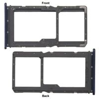 Replacement For Xiaomi Redmi Note 7 Dual Sim Micro SD Card Tray Slot Holder Blue