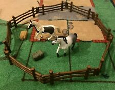Collecta Log Fence Miniature Figure Toy Schleich Horses 2016