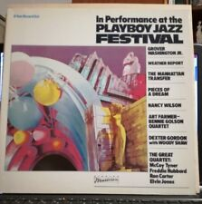 IN THE PERFORMANCE PLAYBOY JAZZ FESTIVAL 2LP  33 GIRI - W.REPORT - G.WASHINGTON