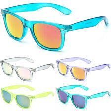 Retro Rewind Translucent Crystal Sunglasses Vintage Fashion Men Women Glasses