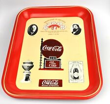 Coca-Cola Coke Sheet Metal Tray USA Serving April 1981 Springtime IN Atlanta