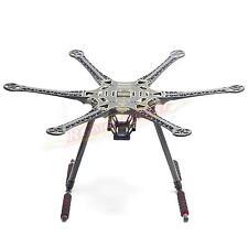 S550 F550 Upgrade Hexacopter Fuselage Frame Kit PCB w/Carbon Fiber Landing Gear