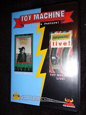 V.RARE LN DVD TOY MACHINE LIVE and HEAVY METAL Bloodsucking Skateboard Company