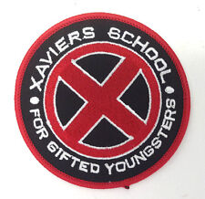 """X-MEN Xavier's School for Gifted Youngsters 3.5"""" RED Logo Patch (XMPA-01-R)"""