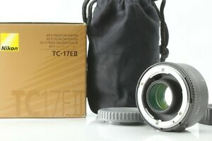 【TOP MINT in Box】Nikon AF-S TC-17EII 1.7X Teleconverter by FedEx From JAPAN A614