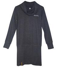 BENCH Sweatkleid Gr. 176 182 anthra meliert Rollkragen Kleid Damen Gr. 38-40 neu