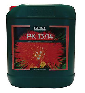 CANNA PK 13/14 Top Quality Nutritional Minerals Plants Growth Hydro Soil Coco-5L