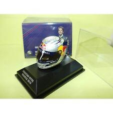F1 Casque Helmet Arai Vettel Red Bull Valencia 2010 1/8 Minichamps