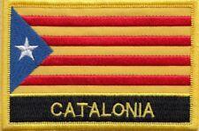 Cataluña Senyera Estelada Parche con Bandera Bordada - Coser o Hierro En