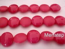 4(Four)  14mm Cushion Round Beads: Pop - Fandango
