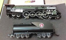 SUNSET BRASS 3RD RAIL GREEN GREAT NORTHERN S-2 4-8-4 LOCOMOTIVE MINT IN BOX RARE