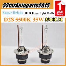 2x Super Bright D2S 5500k 35W HID Xenon Headlight Bulb Replace for Philips Osram